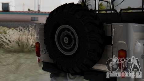 УАЗ 469 Ivan Braginsky для GTA San Andreas вид сзади слева
