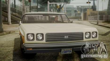 GTA 5 Dundreary Regina IVF для GTA San Andreas вид справа