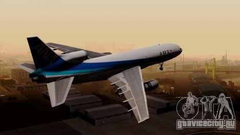 Lockheed L-1011 TriStar All Nippon Airways для GTA San Andreas вид слева