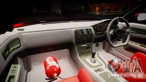 Nissan Silvia S14 Koni для GTA 4 вид сзади