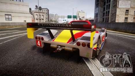 Radical SR8 RX 2011 [4] для GTA 4 вид сзади слева