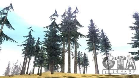 Vegetation Original Quality v3 для GTA San Andreas третий скриншот
