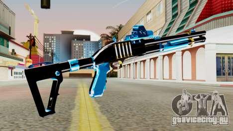 Fulmicotone Chromegun для GTA San Andreas второй скриншот