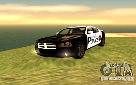 Dodge Charger Super Bee 2008 Vice City Police для GTA San Andreas