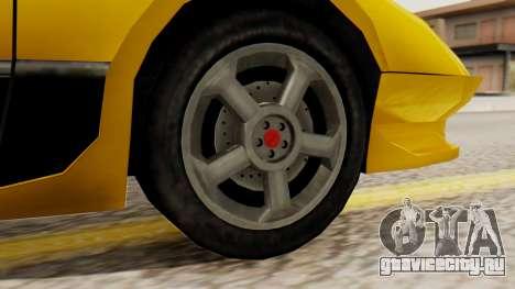 Sportcar2 SA Style для GTA San Andreas вид сзади слева