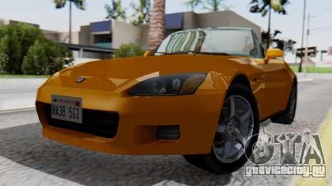 Honda S2000 Fast and Furious для GTA San Andreas
