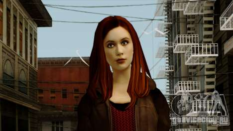Amy Pond from Doctor Who для GTA San Andreas