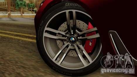 BMW 7 2015 для GTA San Andreas вид сзади слева