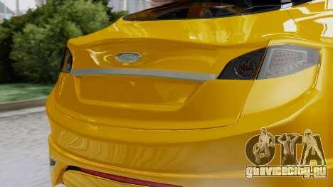 Ford Iosis для GTA San Andreas вид сзади