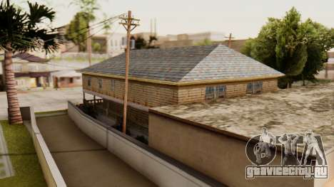 New Interior for CJs House для GTA San Andreas второй скриншот