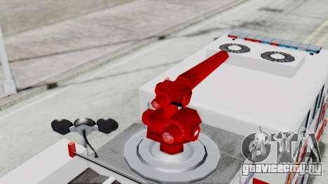 MTL SAFD Firetruck Flat Shadow для GTA San Andreas вид изнутри