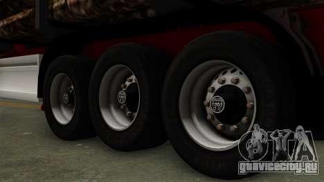 Trailer Fliegl v2 для GTA San Andreas вид сзади слева