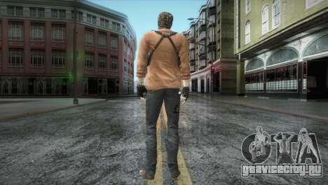 New Jhon Albert Wesker from Resident Evil для GTA San Andreas третий скриншот