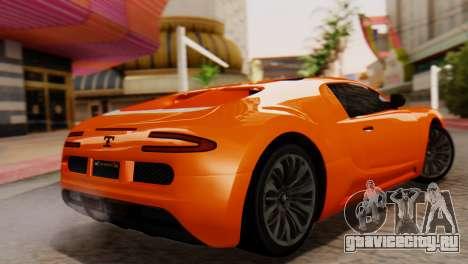 GTA 5 Adder Secondary Color для GTA San Andreas вид слева