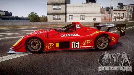 Radical SR8 RX 2011 [16] для GTA 4 вид слева