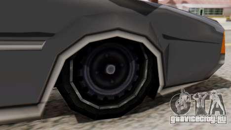 Clover Al_Piso для GTA San Andreas вид сзади слева