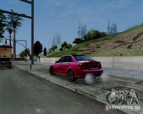 ENB Pizx для GTA San Andreas второй скриншот