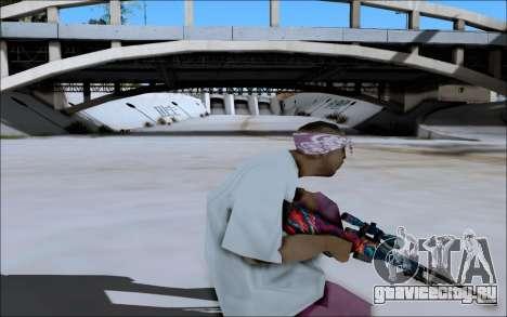 AWP Hyper Beast для GTA San Andreas четвёртый скриншот