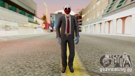 [PayDay2] Wolf для GTA San Andreas второй скриншот
