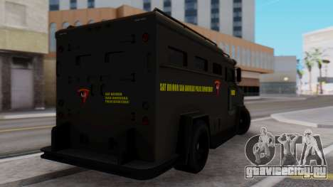 GTA 5 Enforcer Indonesian Police Type 2 для GTA San Andreas вид слева
