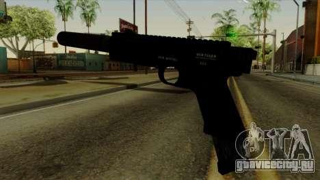 AP Pistol with Supressor для GTA San Andreas второй скриншот