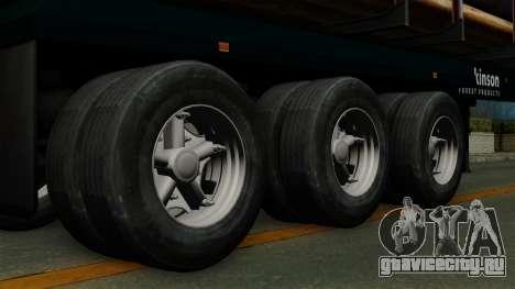 Trailer Log v2 для GTA San Andreas вид сзади слева