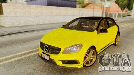 Mercedes-Benz A45 AMG 2012 PJ для GTA San Andreas салон