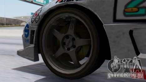Mazda RX-7 Itasha для GTA San Andreas вид сзади слева