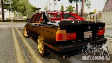 BMW 535i E34 1993 для GTA San Andreas вид слева