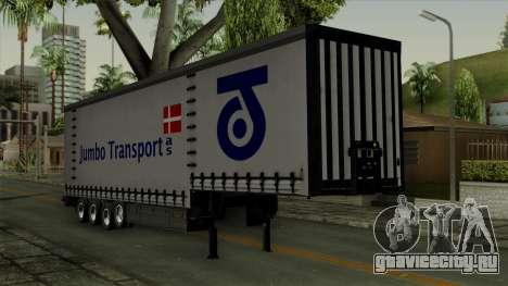 Trailer Krone Profiliner v4 для GTA San Andreas