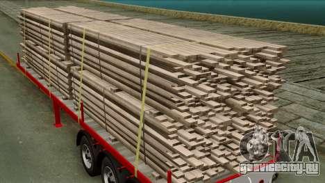3achsflat для GTA San Andreas вид сзади