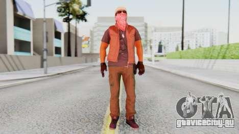 [BF Hardline] Gang Technician для GTA San Andreas второй скриншот