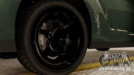 GTA 5 Annis Elegy RH8 SA Style для GTA San Andreas вид сзади слева