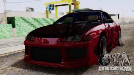 Mitsubishi Eclipse GSX 1999 Mugi Itasha для GTA San Andreas