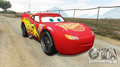 Lightning McQueen [Beta] для GTA 5