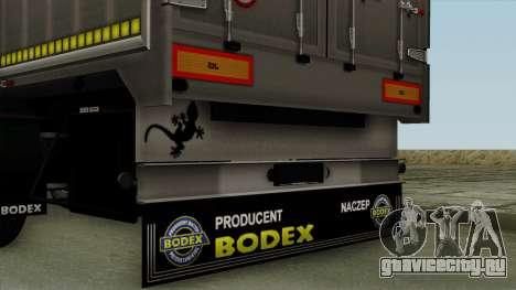 Bodex_TZ для GTA San Andreas вид справа