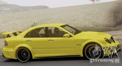 Mercedes-Benz E63 Qart Tuning для GTA San Andreas вид сбоку