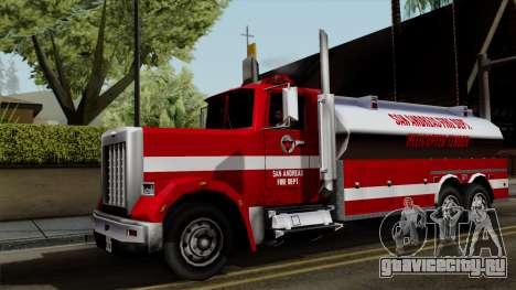 FDSA Helicopter Tender Truck для GTA San Andreas
