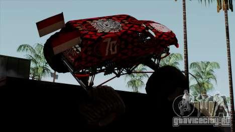 The Seventy Monster v2 для GTA San Andreas вид слева