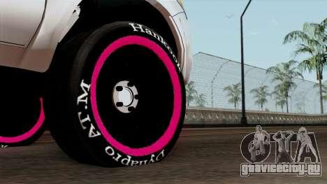 Toyota Hilux 2014 для GTA San Andreas вид сзади слева
