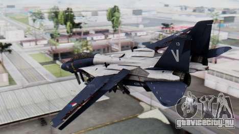 F-14A 213 Koninklijke Marine для GTA San Andreas вид слева