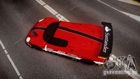 Ferrari F50 GT 1996 Scuderia Ferrari для GTA 4 вид справа