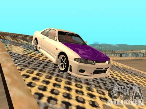 Nissan Skyline R33 Drift Monster Energy JDM для GTA San Andreas салон