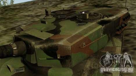 Leopard 2A4 для GTA San Andreas вид справа