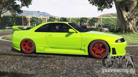 Nissan Skyline BCNR33 [Beta] для GTA 5