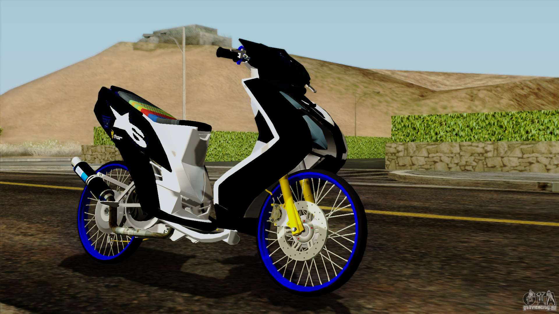 Download Mod Motor Drag Bike Gta Sa