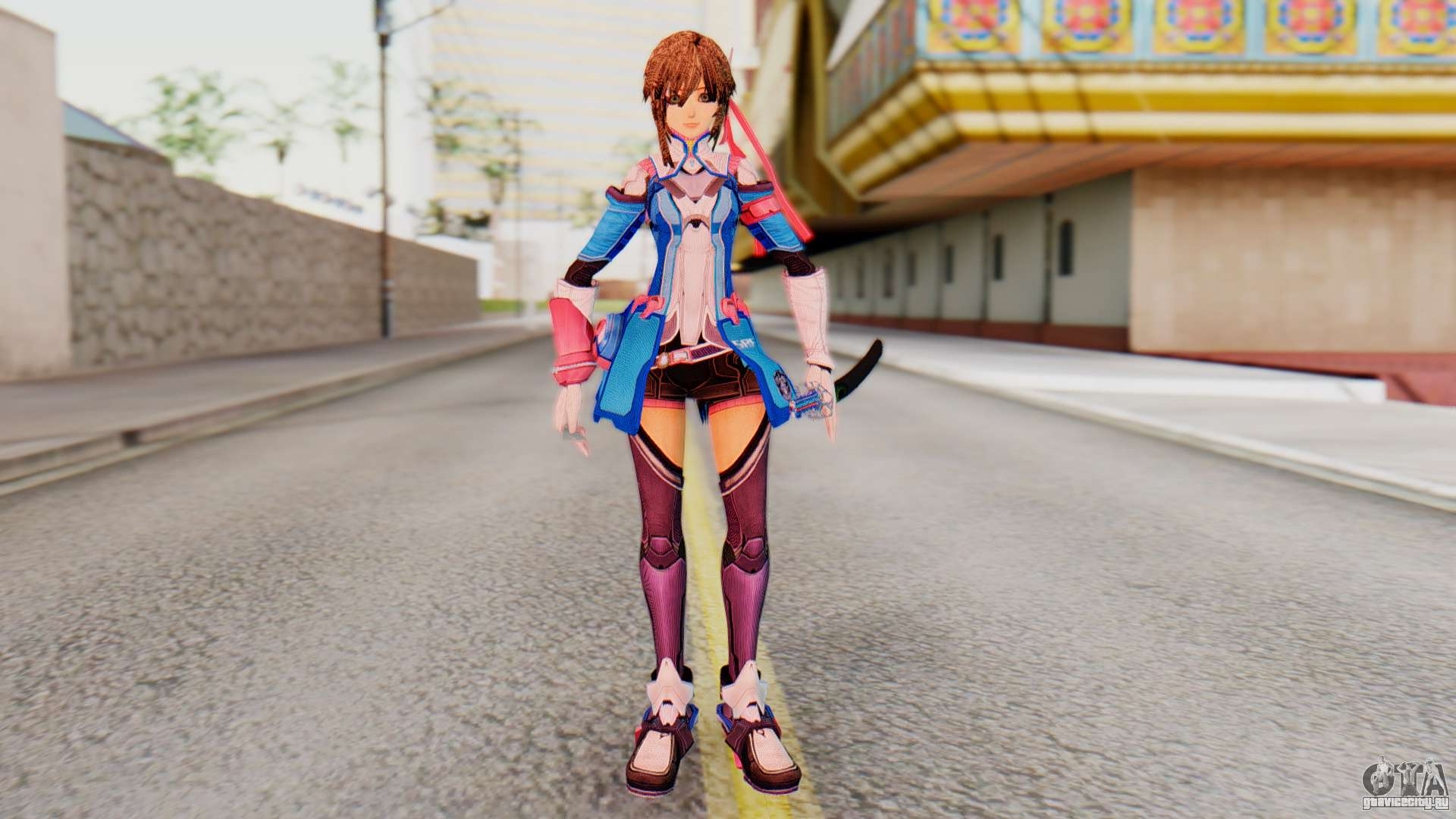 Hot anime girl skin for gta sa fucked pictures