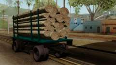 GTA 5 Fieldmaster Wood Trailer для GTA San Andreas