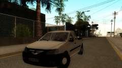 Дачия Логан пикап Necarosat для GTA San Andreas