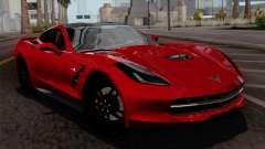 Chevrolet Corvette C7 Stingray 1.0.1 для GTA San Andreas
